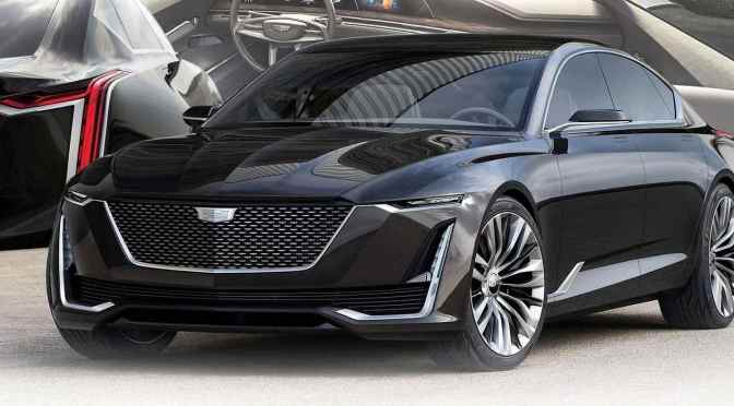 LOOK! Check out the Cadillac Escala concept