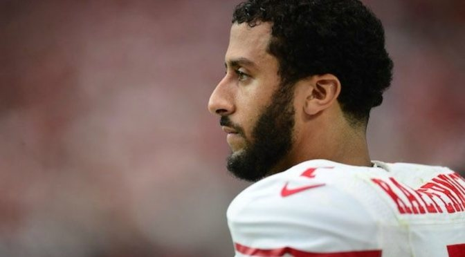 Colin  Kaepernick refuses to stand for National Anthem. But he stands for much more.