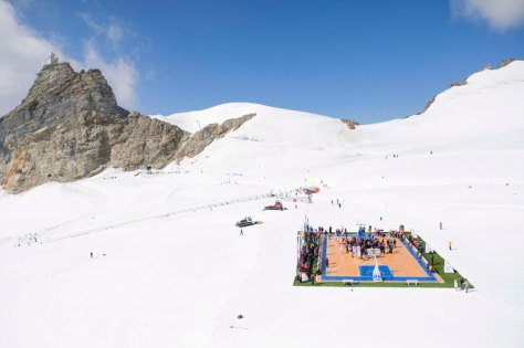 EPA SWITZERLAND BASKETBALL JUNGFRAUJOCH SPO BASKETBALL SCH