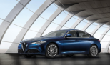 Alfa Romeo continues to expand its U.S. lineup with the midsize Giulia. Standard equipped with a 2-liter, 276 hp turbocharged 4-cylinder engine, the Giulia can reach 0-60 in 5.5 seconds. Want to spice it up? The top Quadrifoglio gives 505 hp turbo V6, that gets 0-60 in 3.8.