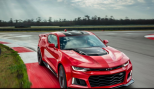 Chevy ups the ante in the muscle car competition with Ford's Mustang and Dodge's Challenger. The Chevy Camaro ZL1 is equipped to run with a Corvette Z06 6.2 liter, 640-horsepower V8 under the hood. The coupe and convertible versions will be available for 2017.