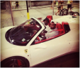 J.R. went with the classy look with his white Ferrari 458 Spider. Its flashy red leather matches his outgoing personality on the court. Clevelanders probably won't see this Ferrari though, he most likely has it where he spends his offseasons – somewhere warm like Los Angeles, CA or Miami, FL.