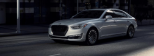 Hyundai continues the expansion of he high-end Genesis line, with the G90 sedan. The flagship of the Genesis line, the G90 is essentially redesigned version of the 2016 Hyundai Equus. The G90 will be available in a 365 hp V6 or the 420 hp V8.