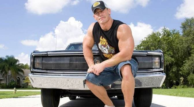 John Cena's car collection, like him, is big on muscle