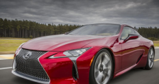 The first entry from the Lexus 2012 concept series, the LC 500 is a sleek and powerful sports car. A 467 hp V8 engine on a car about the size of the BMW 6-series is flat out boasting.