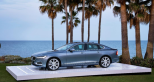 """Volvo's full-size sedan re-emerges as the S90, formerly the S80. Highly attractive and featuring Volvo's signature """"Thor's Hammer"""" headlight design, the S90 is quite the head-turner. Offering a 2.0 liter supercharged with up to 316 hp and four-wheel drive available, the S90 is a must see for 2017."""