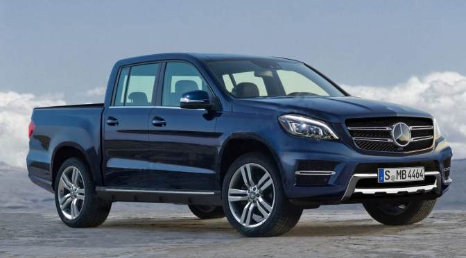 Mercedes-Benz To Launch X Class