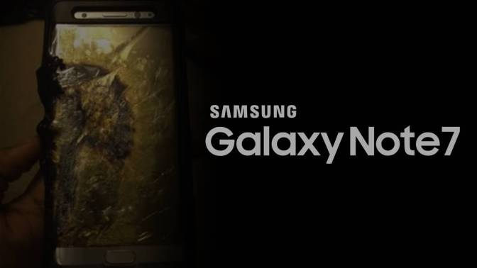 Samsung Shuts Down Galaxy Note 7 Over Safety Concerns