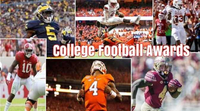 Defy Life College Football Awards Projections