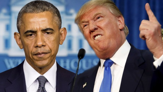 Racism in America Part 1: President Barack Obama vs. President-Elect Donald Trump
