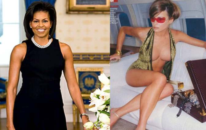 Racism in America Part 2:  Michelle Obama vs. Melania Trump
