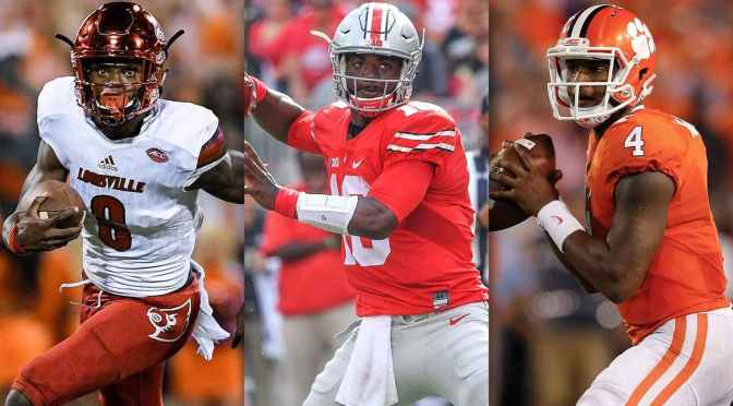 Heisman Watch: Jackson Stumbles, But No One Takes Advantage