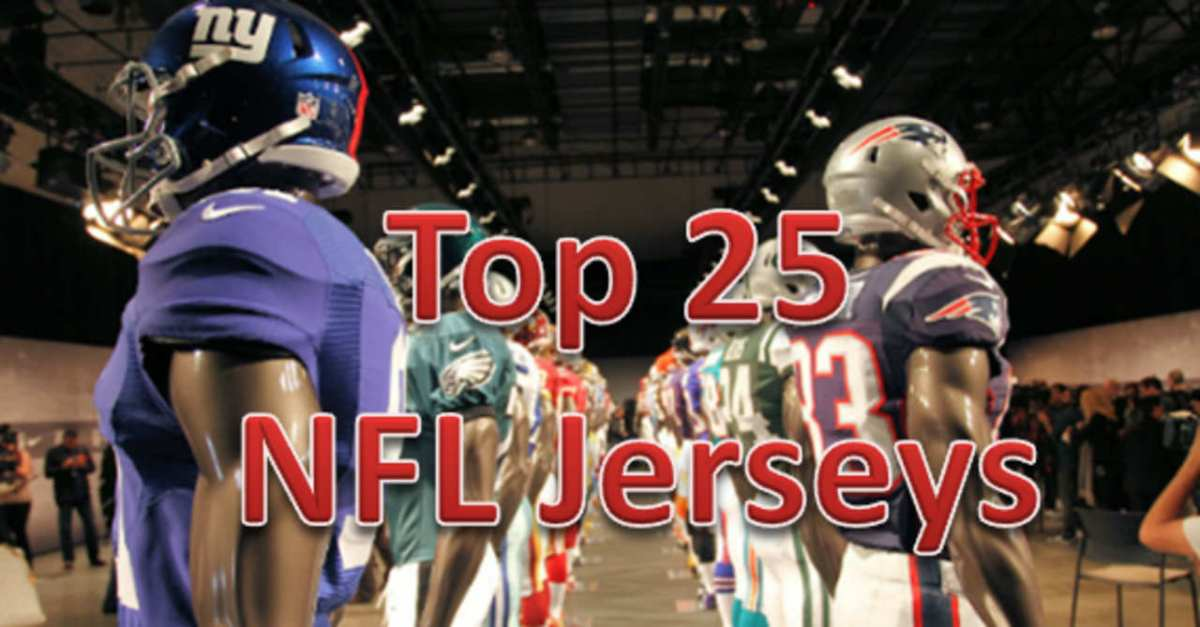 Top 25 NFL Jersey Sales For 2016