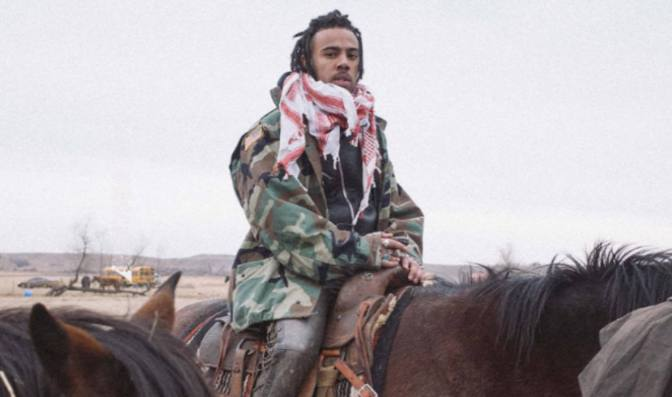 Vic Mensa Takes Stand With Standing Rock