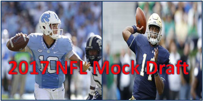 2017 NFL Mock Draft: 3 Round Edition