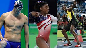 Biles, Bolt, Phelps