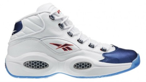 The Reebok Question Mid Blue Toe will release on December 9, 2016 for $140.
