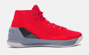The Under Armour Curry 3 Davidson will release on December 10, 2016 for $140.