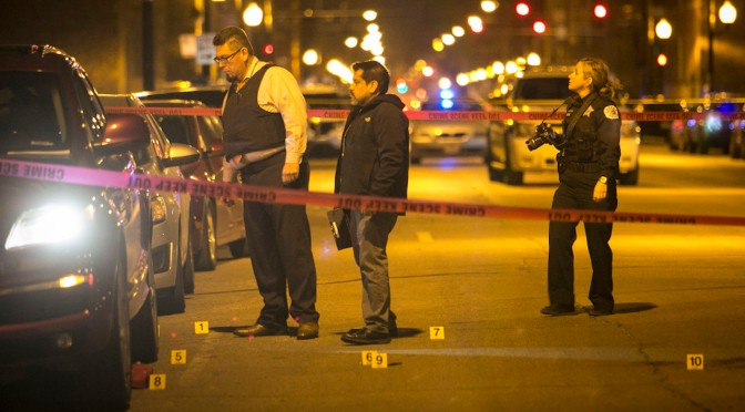 Chicago Ends 2016 with 762 Homicides, Up 57 Percent from Previous Year