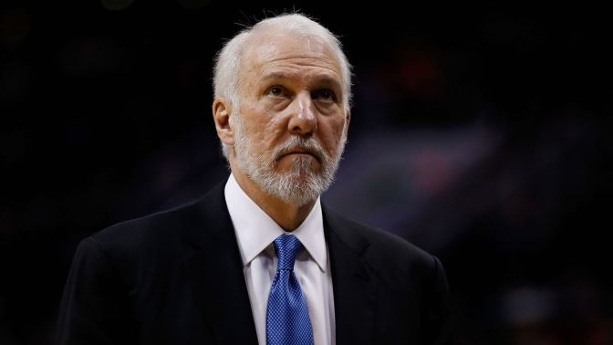 Gregg Popovich Goes In On Trump -Again- After Inauguration