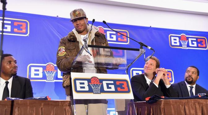 Allen Iverson Joins Ice Cube's BIG3 Basketball League