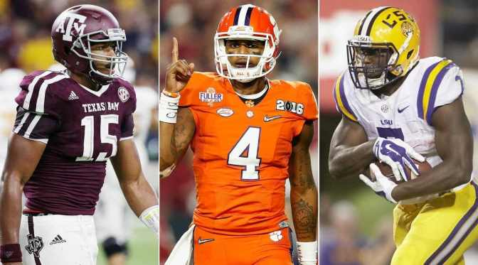 2017 NFL Draft Position Rankings