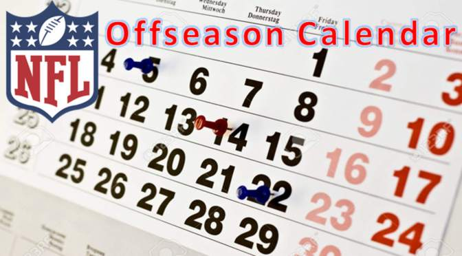 NFL Key Offseason Dates