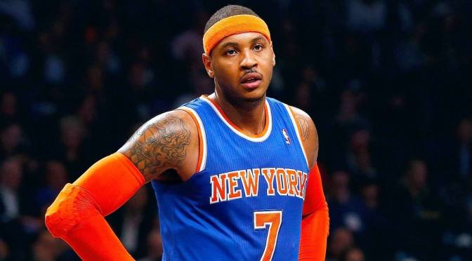 Knicks trade Carmelo Anthony