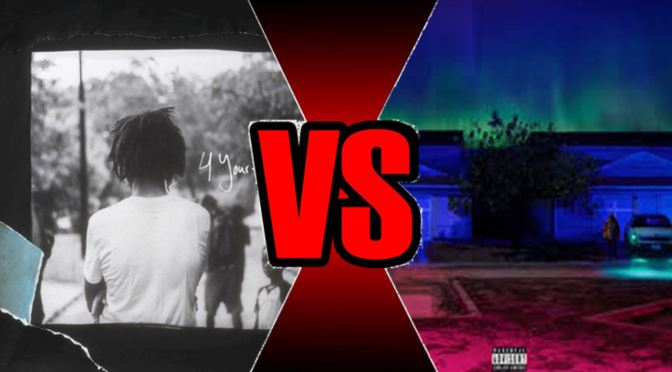 Verses: '4 Your Eyez Only' vs 'I Decided'