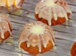 Orange Almond Mini Pound Cakes