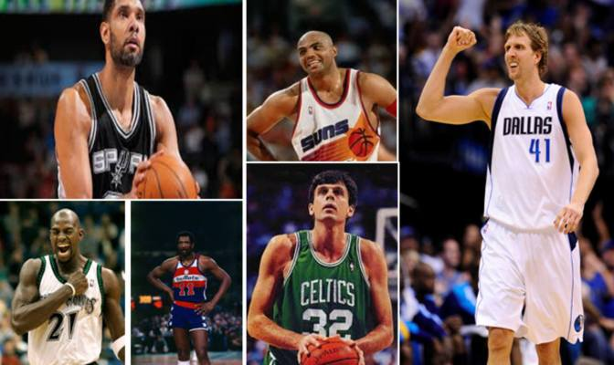 Ranking The Top 10 Power Forwards In NBA History