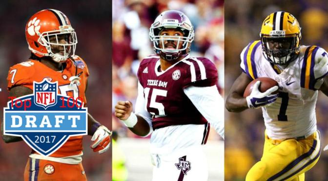 Top 100 Players In The 2017 NFL Draft