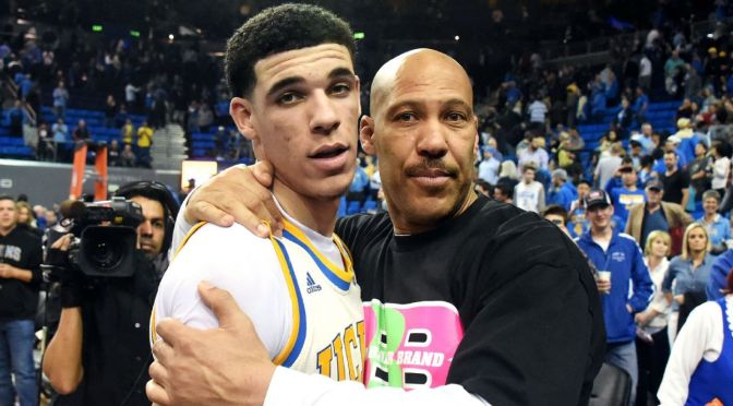 LaVar and Lonzo Ball Release First Sneaker on Big Baller Brand.