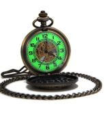 A modern pocket watch combines an old-school touch with new-school flair.
