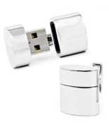 These cuff links are more than they appear, with a USB key on one hand and mini router hidden in the second to create a 150' range wifi hotspot.