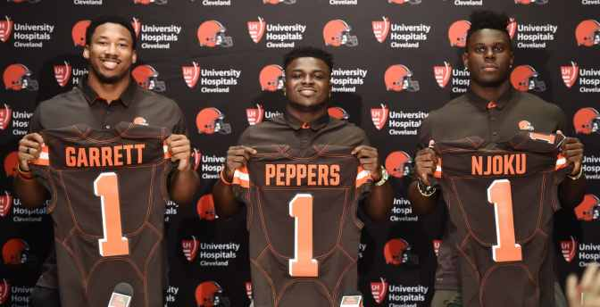 2017 NFL Rookie Jersey Numbers