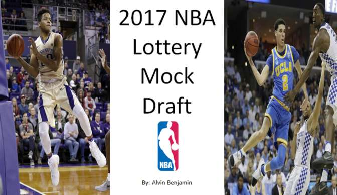 2017 NBA Lottery Mock Draft