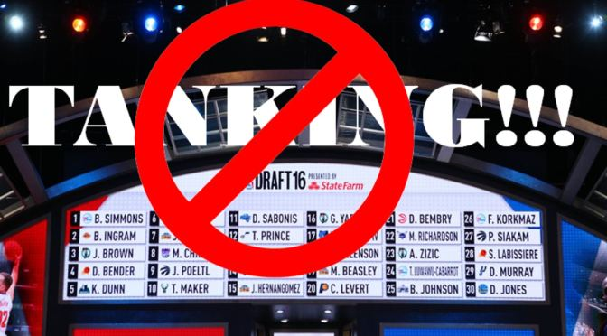 No More Tanking In The NBA