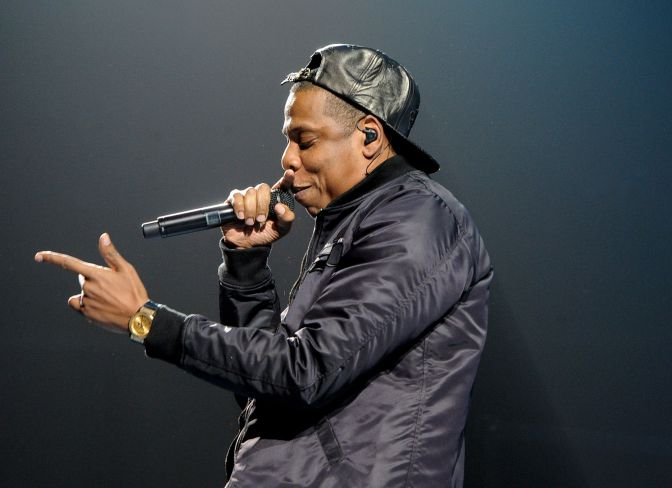 Jay-Z Inducted Into The Song Writers Hall Of Fame