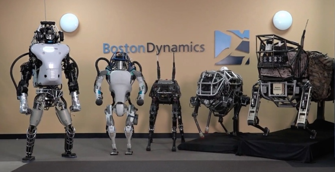 Google Sells Boston Dynamics to SoftBank