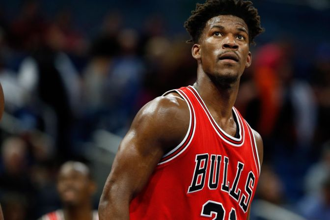 Jimmy Butler Salutes Chicago