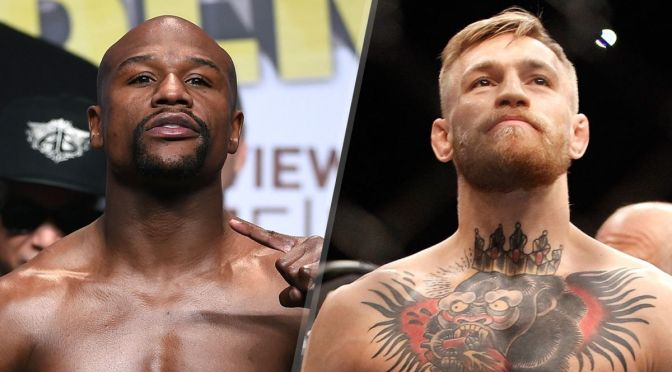 Mayweather vs. McGregor Is Official!!