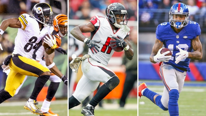 2017 NFL Position Rankings: Wide Receiver