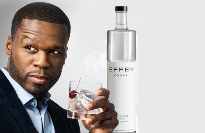 50 Cent Sells His Stake In Effen Vodka for $60 Million