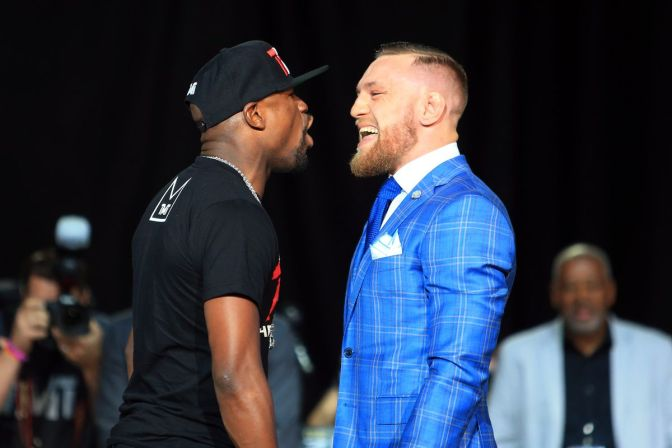 Mayweather Gets Booed In Canada At 2nd Press-conference