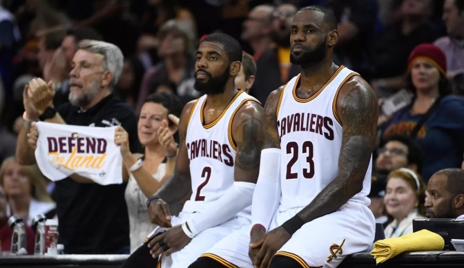 Maybe Lebron Could Sense Kyrie's Ambition