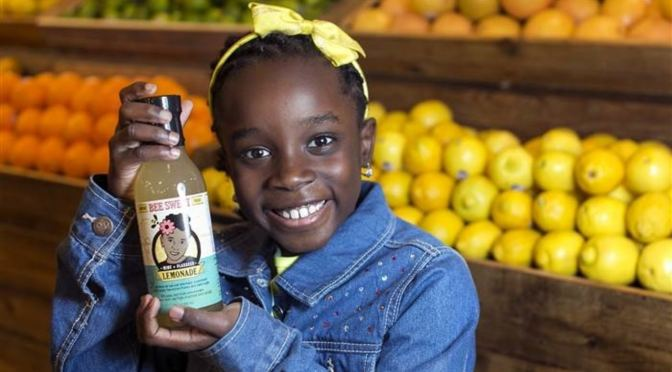 NFL Players Invest In Young Girl's Lemonade Business