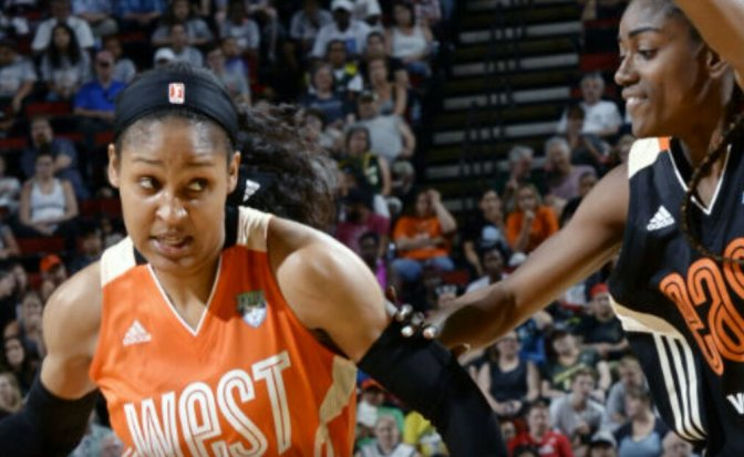 Maya Moore Leads West To All-Star Victory
