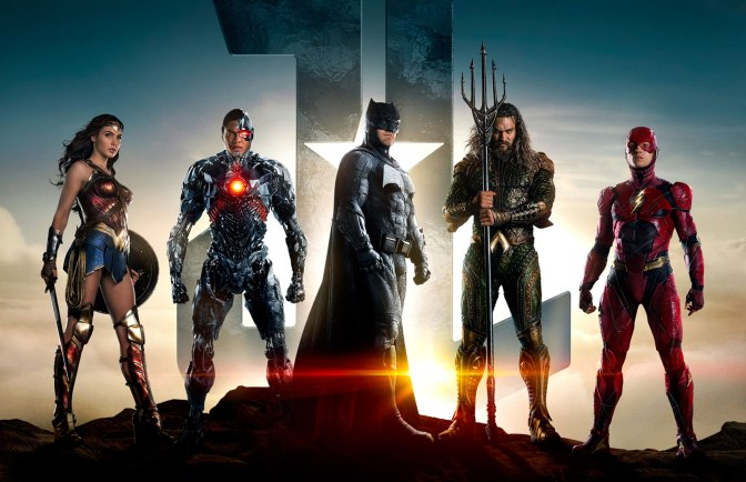 """Justice League"" Official Movie Trailer"
