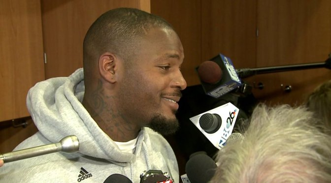 """Martellus Bennett Lined Up The Perfect Response To """"Dying On Football Field"""""""